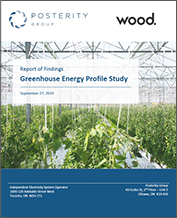 Cover of Greenhouse Energy Profile Study